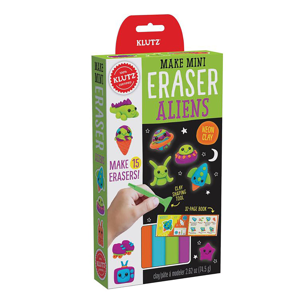 Make Mini Eraser Aliens Craft Kit