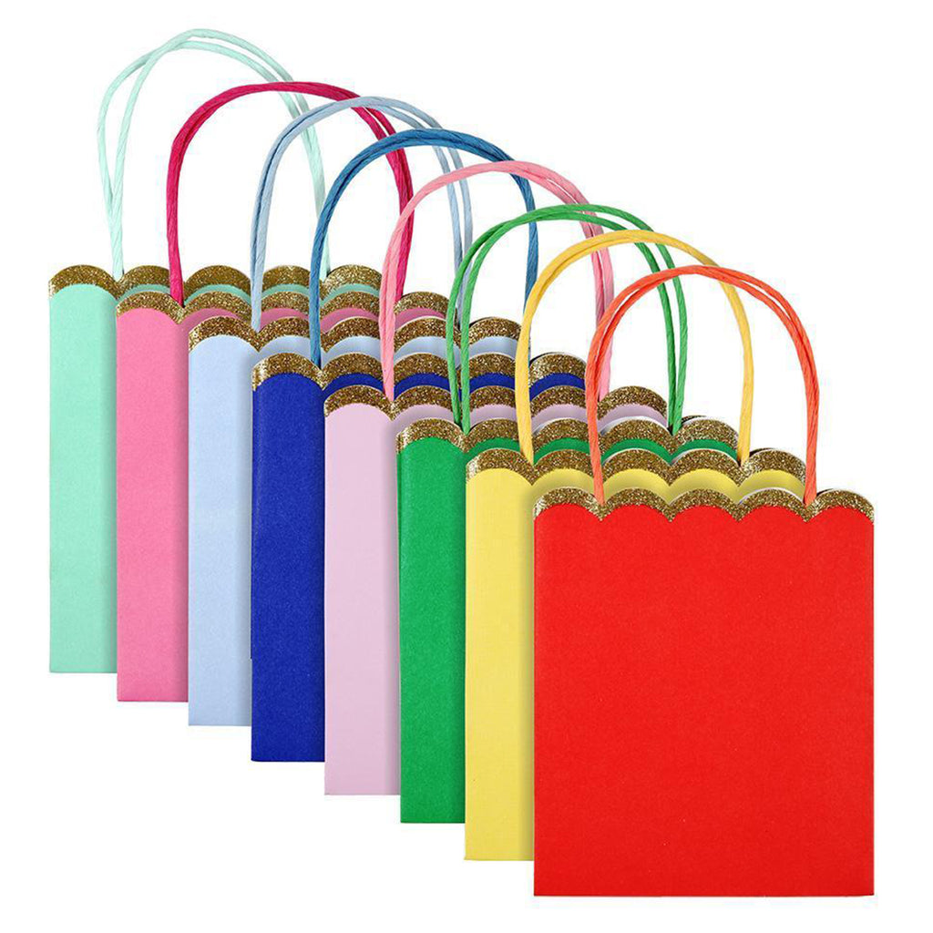 multicolored party bag colors