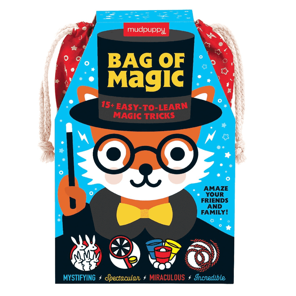 bag of magic tricks packaging