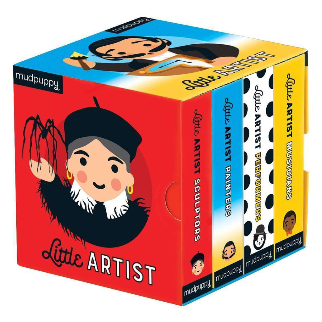 little artist board book set box