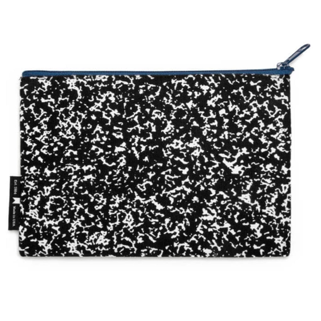 composition book zipper pouch