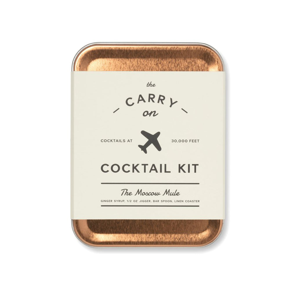 w&p moscow mule carry on cocktail kit front