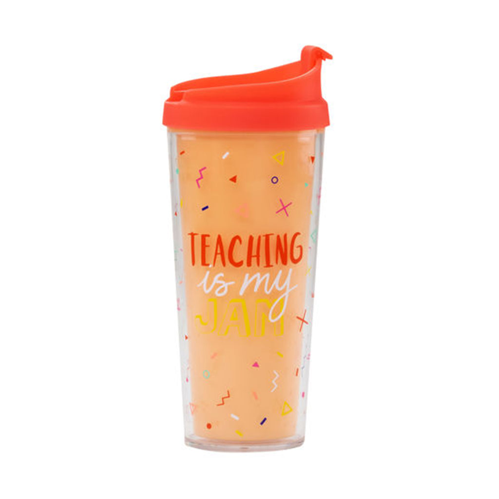 teaching is my jam travel mug