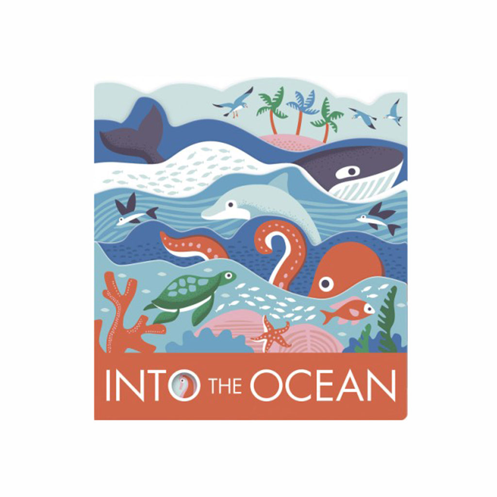 abrams into the ocean die-cut layered baby board book cover