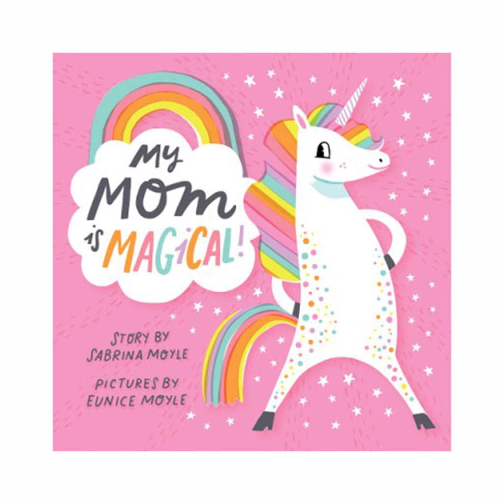 abrams my mom is magical a hello lucky board book cover with unicorn