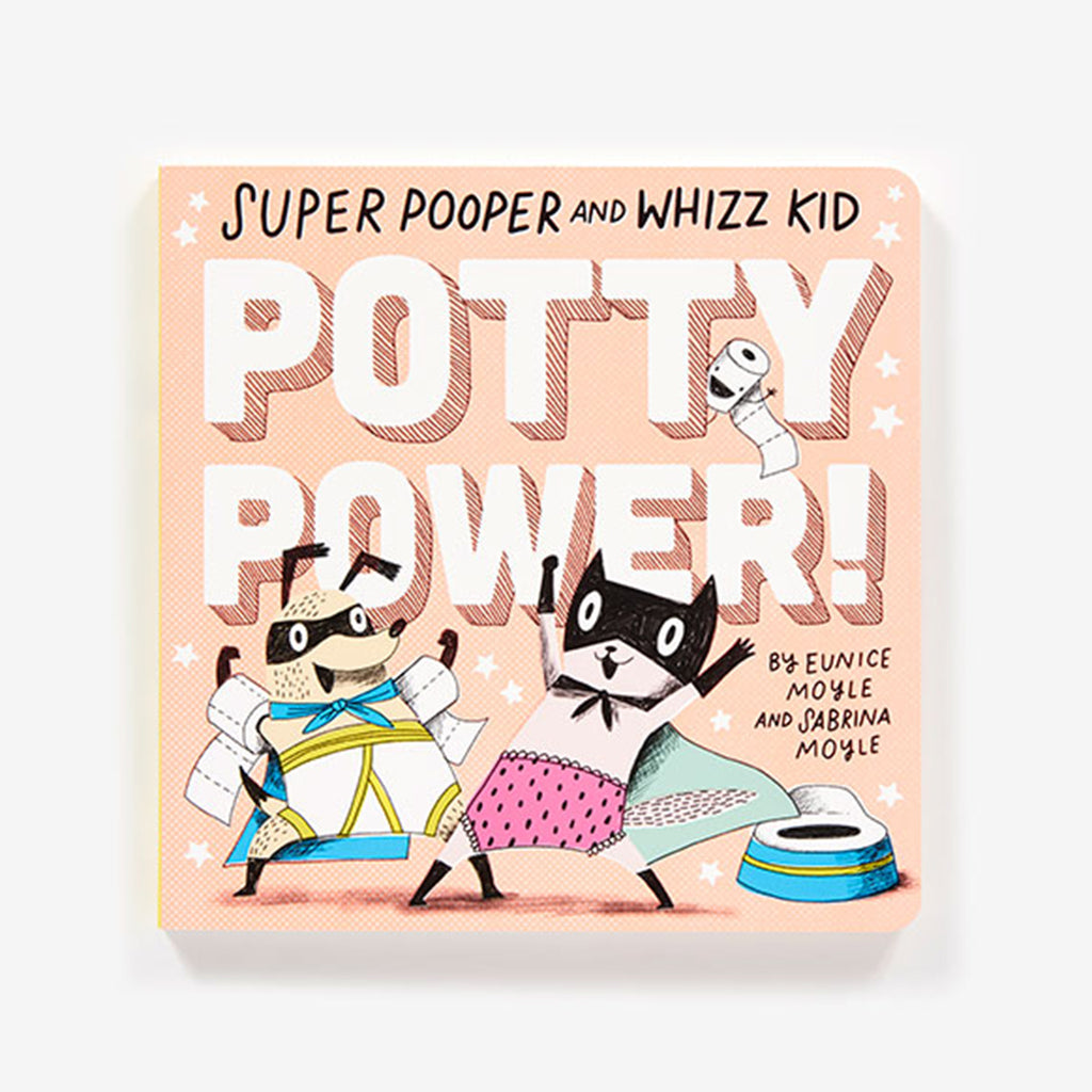 abrams super pooper and whizz kid potty power toddler hellolucky! board book cover