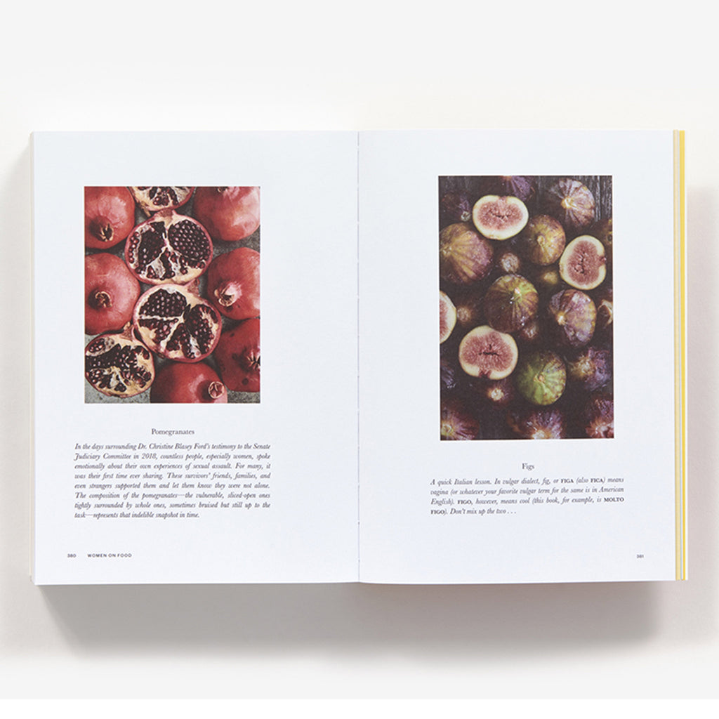 abrams women on food book pomegranate and figs sample pages