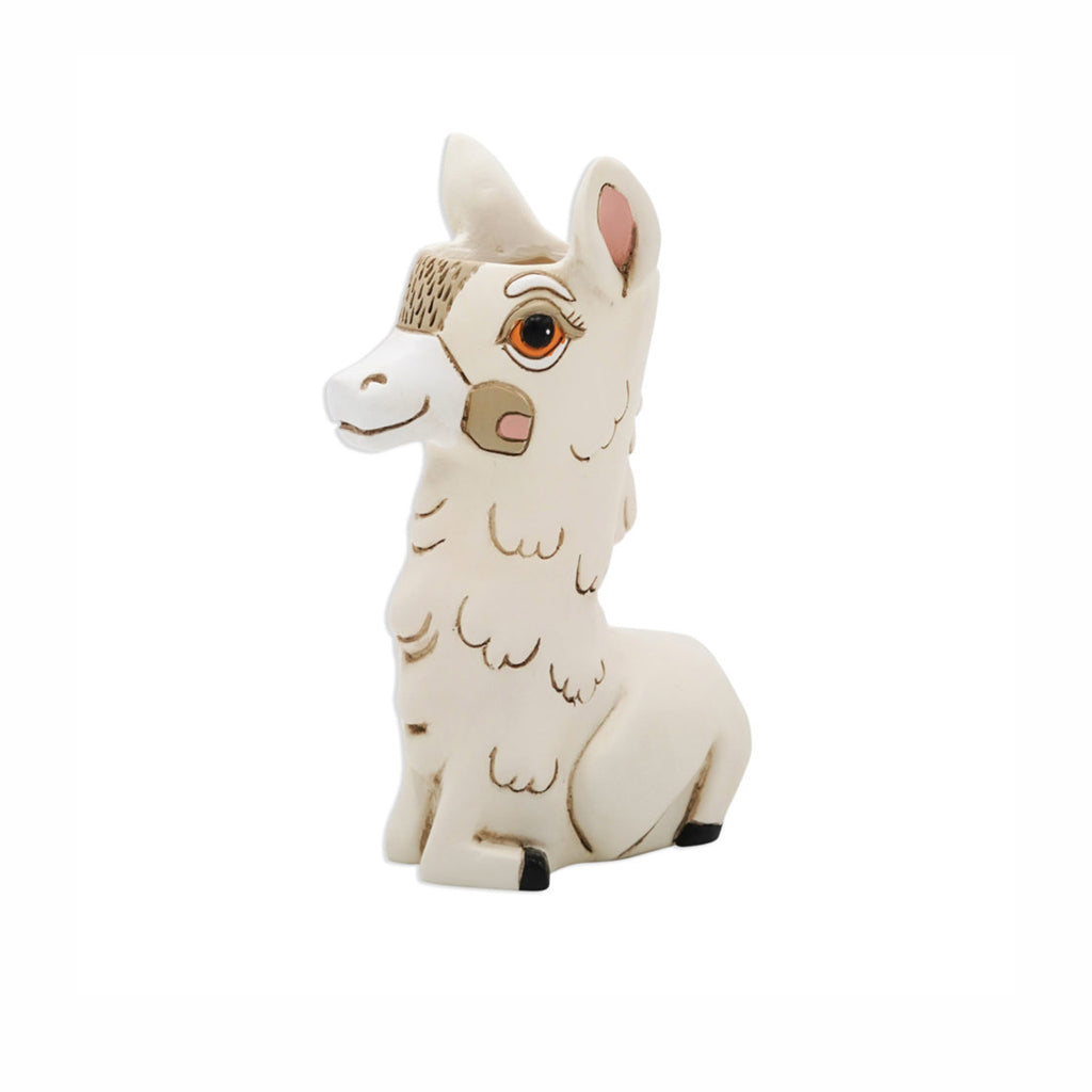 allen designs baby llama indoor decorative planter vase