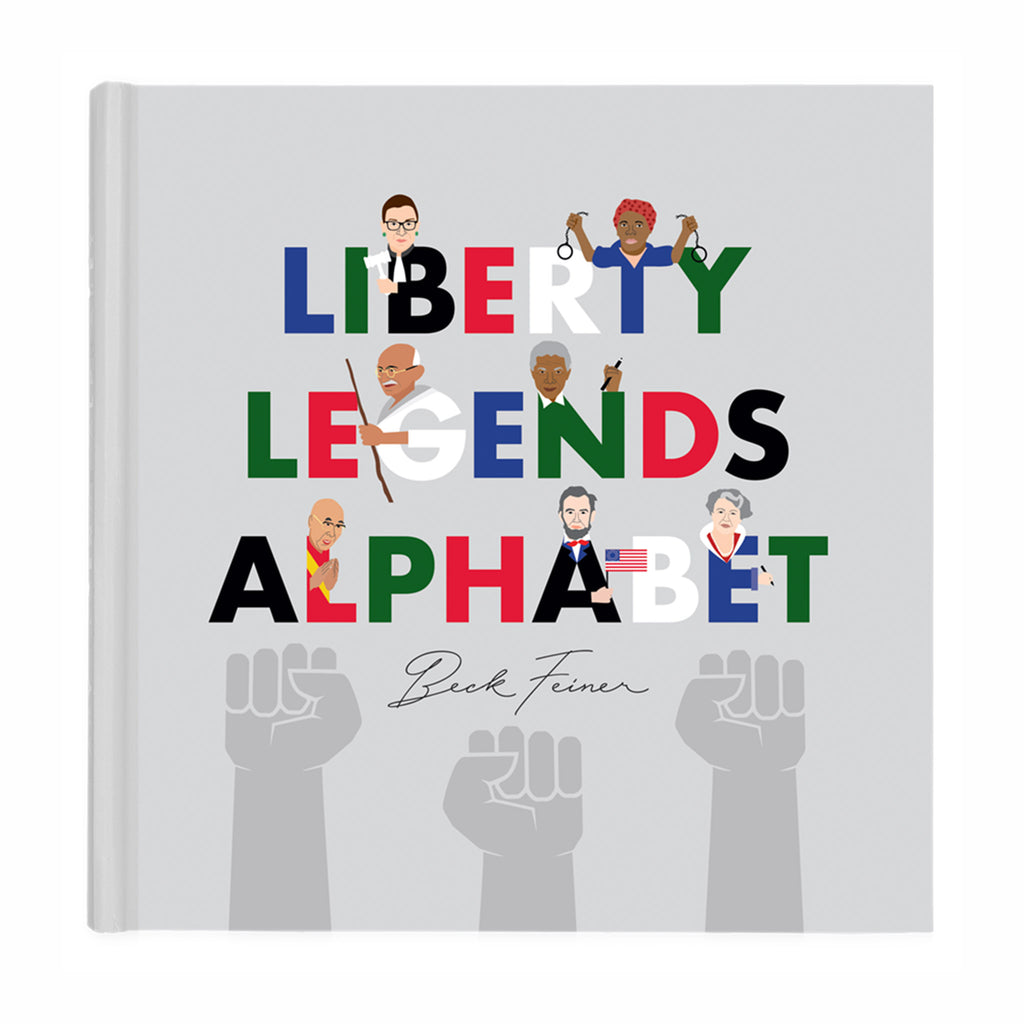 alphabet legends liberty legends alphabet kids book cover