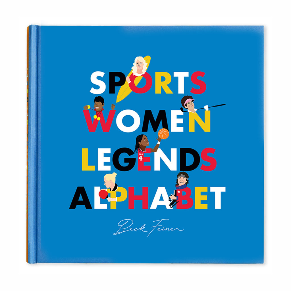 alphabet legends sportswomen legends alphabet book cover