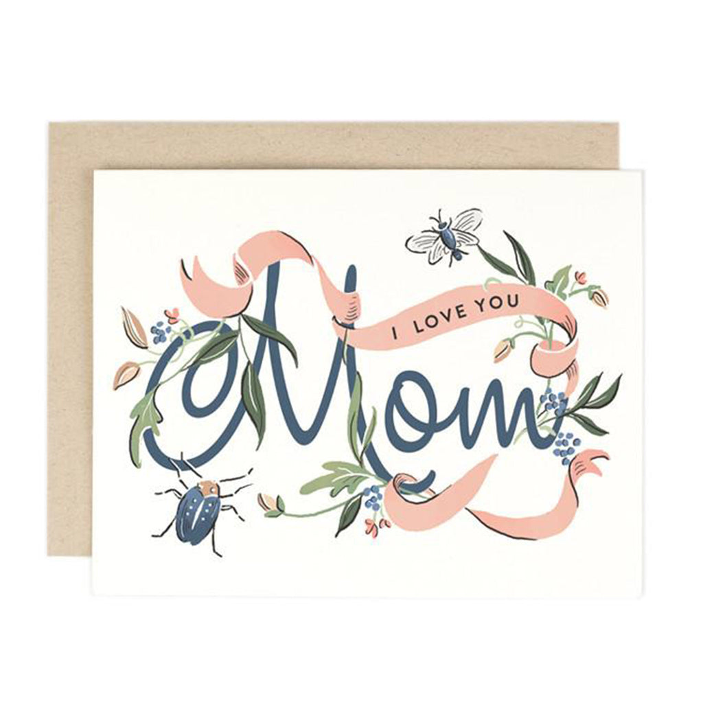 amy heitman i love you mom mothers day greeting card