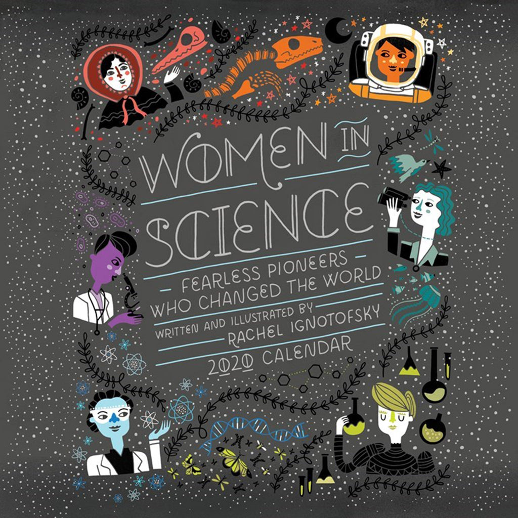 andrews mcmeel 2020 women in science monthly wall calendar cover