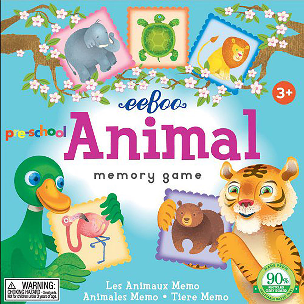 Animal Memory and Match