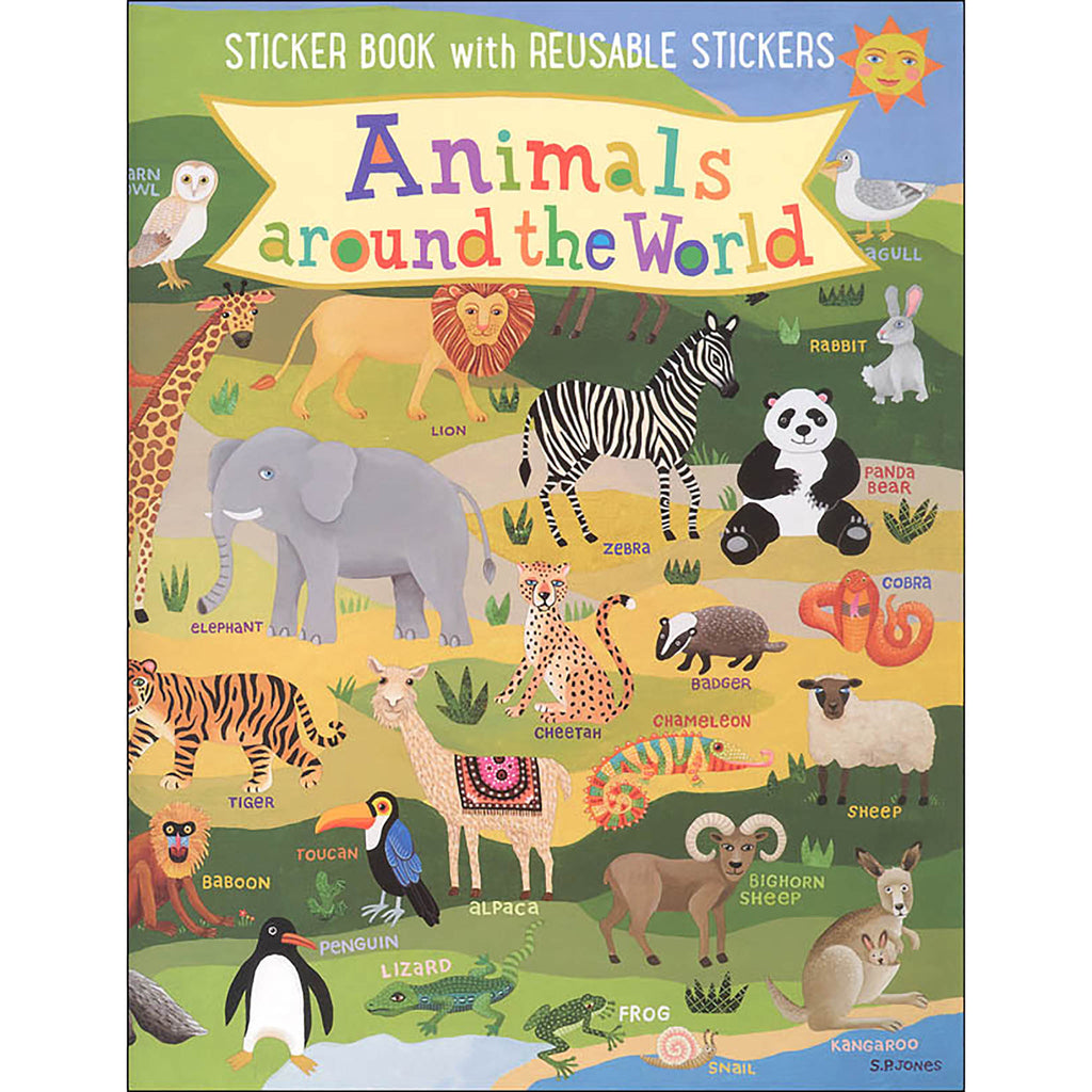 Animals Kids Sticker Book