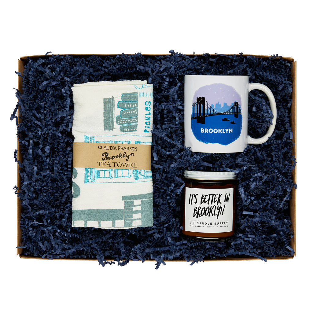annies blue ribbon general store spread the brooklyn love gift box set in packaging