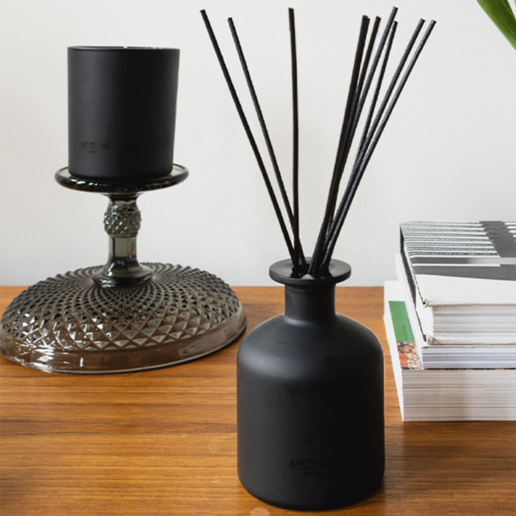 Apotheke Charcoal Scented Reed Diffuser