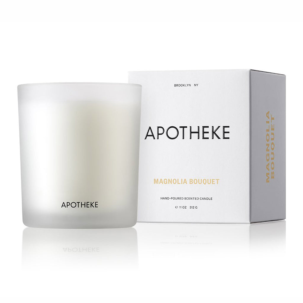 apotheke magnolia bouquet scented soy candle with box
