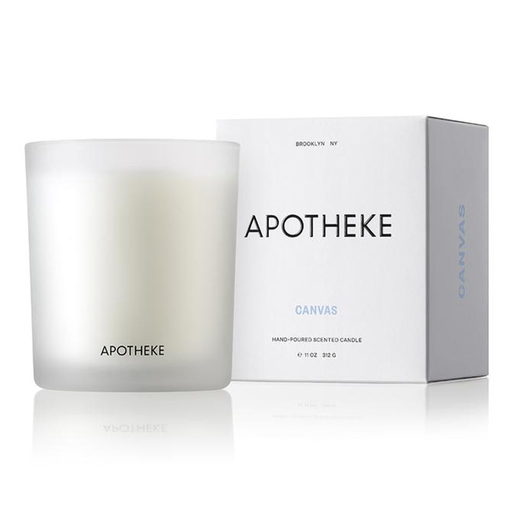 apotheke canvas candle