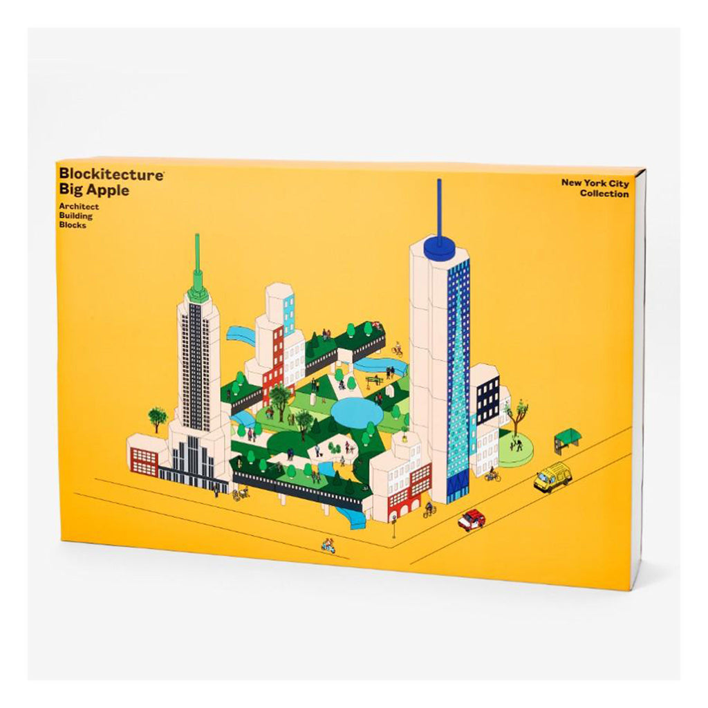 areaware blockitecture new york city big apple architecture building blocks in packaging