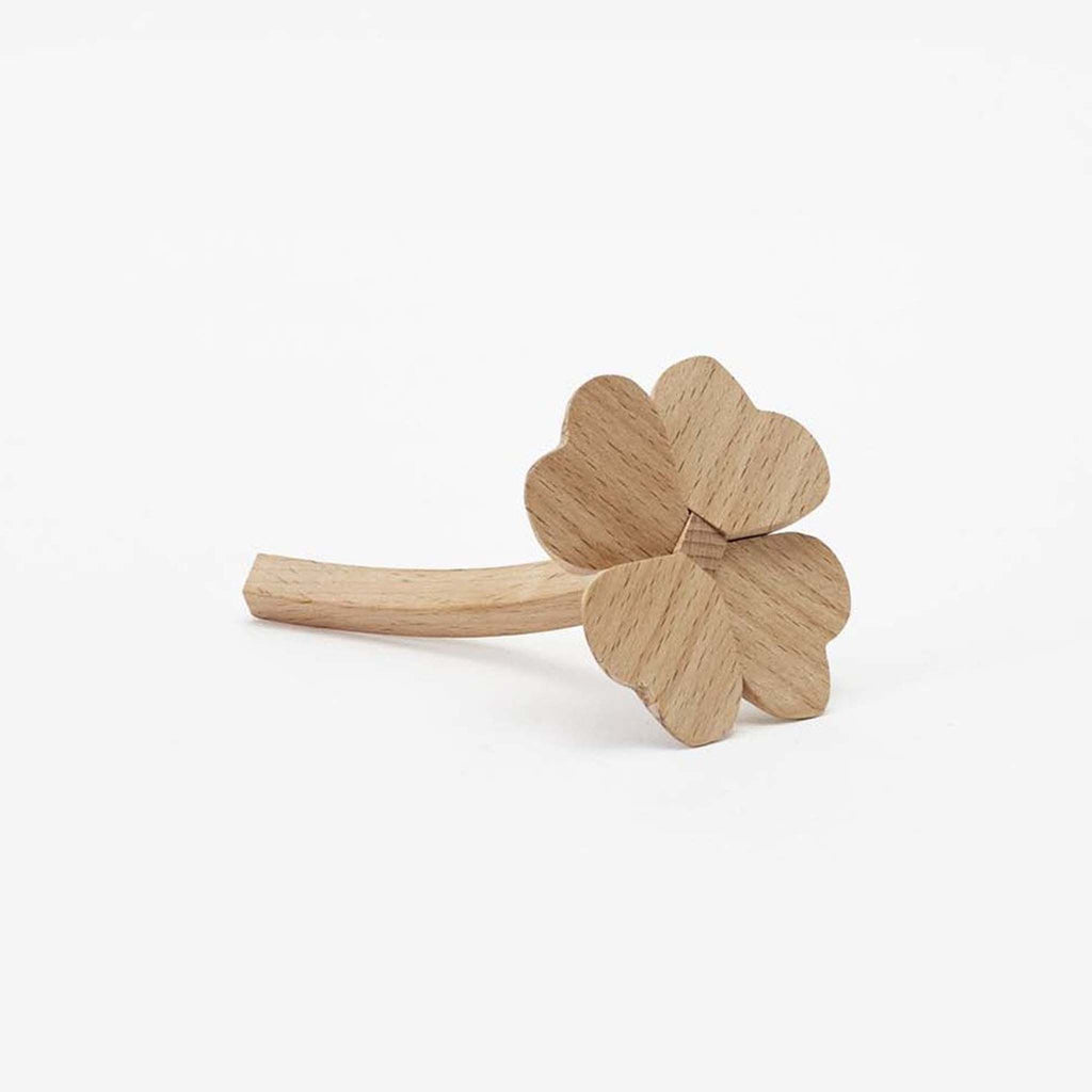 areaware good luck charm 4 leaf clover