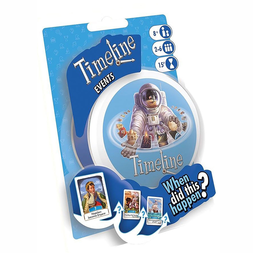 asmodee timeline historical events family quiz card game packaging