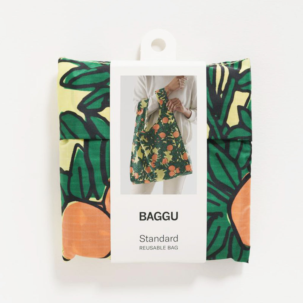 baggu bag standard orange tree
