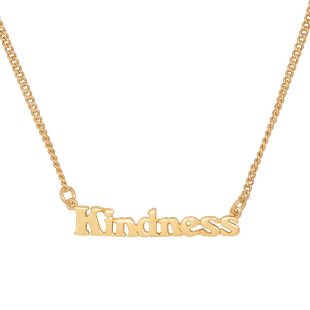bando good intentions jewelry collection kindness necklace detail