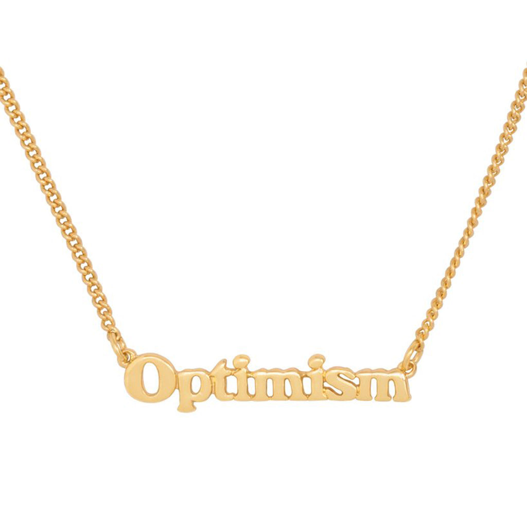bando good intentions jewelry collection optimism necklace detail