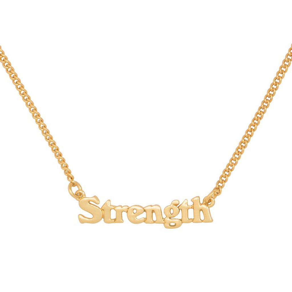 bando good intentions jewelry collection strength necklace detail