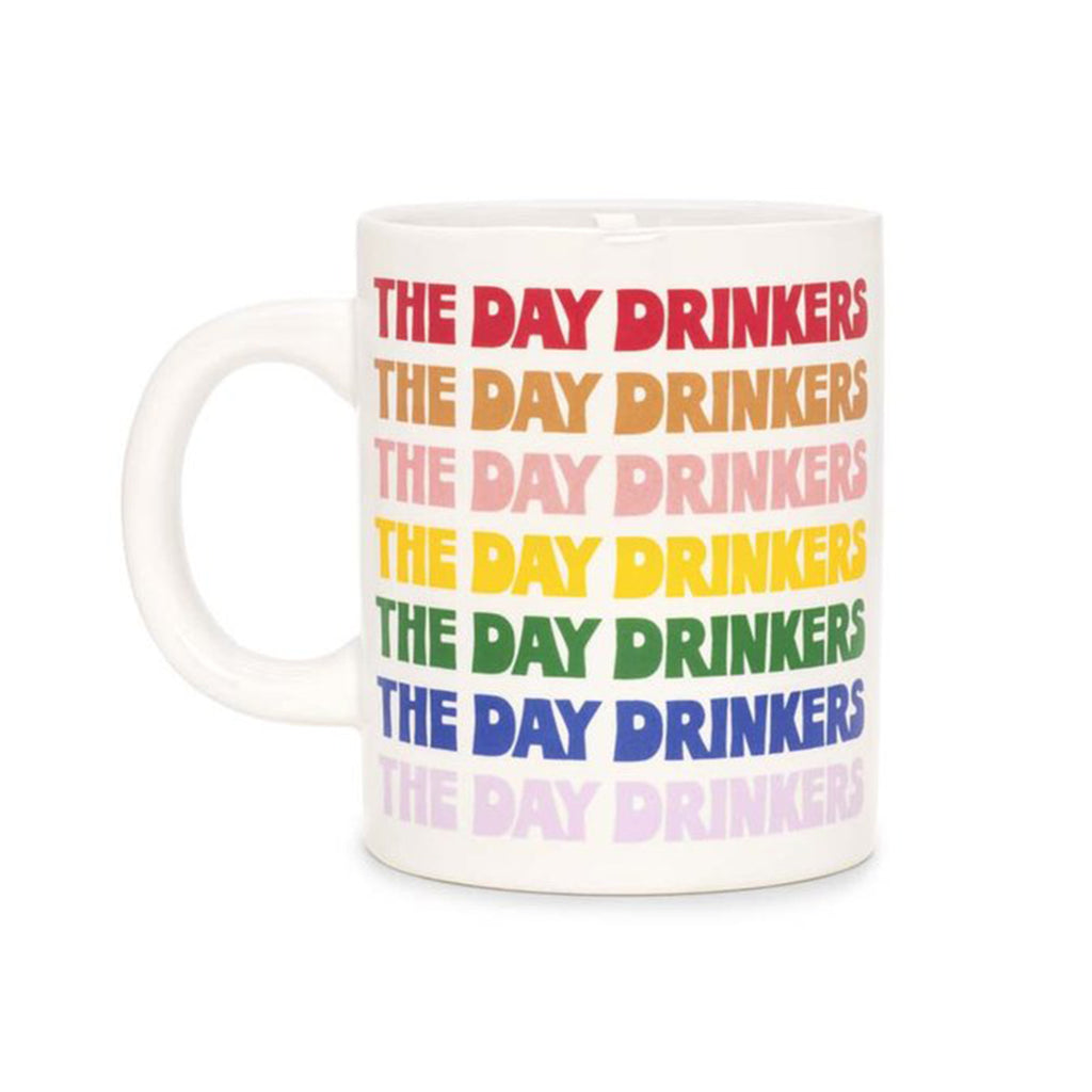 the day drinkers ceramic mug