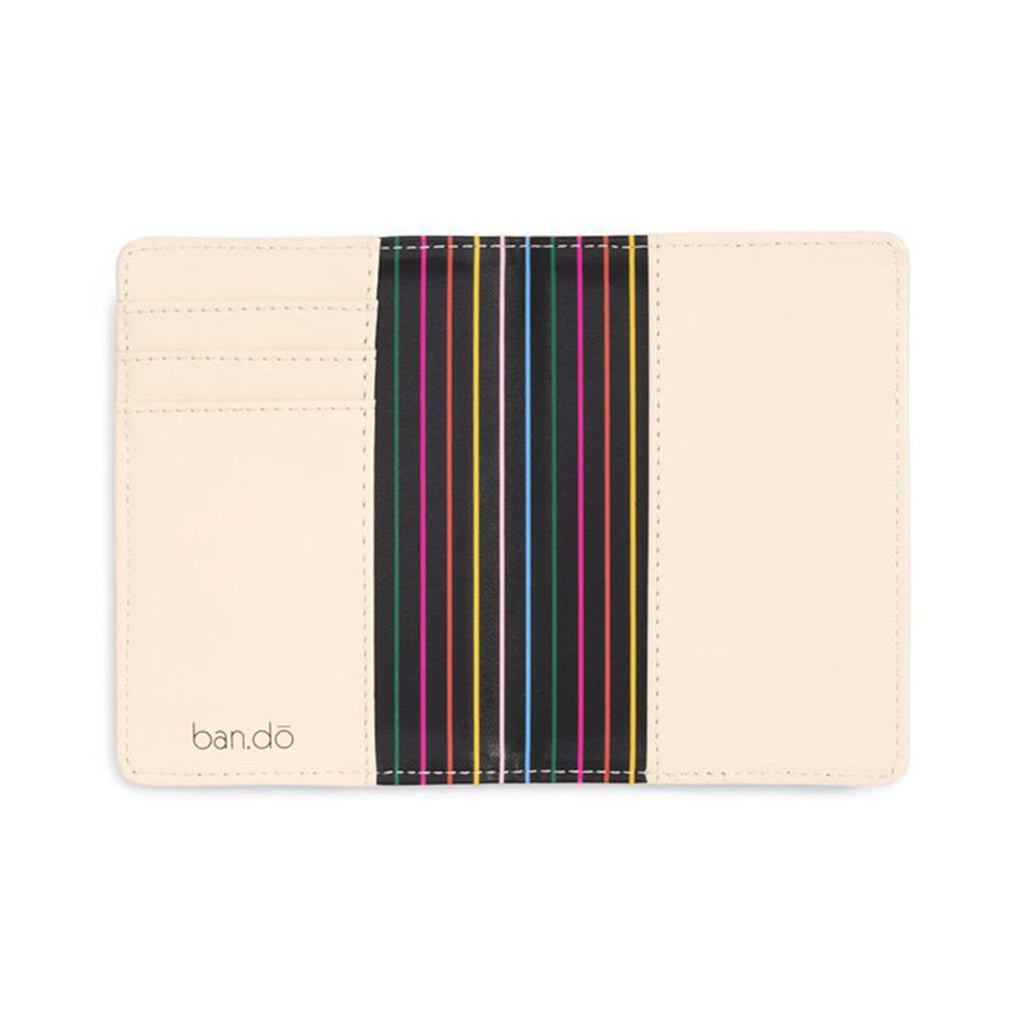look forward not back leatherette passport holder interior