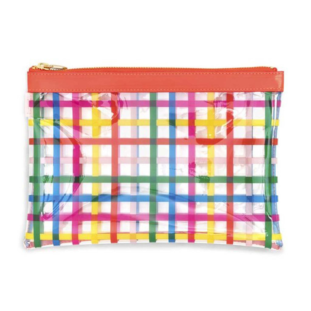 block party wristlet pouch