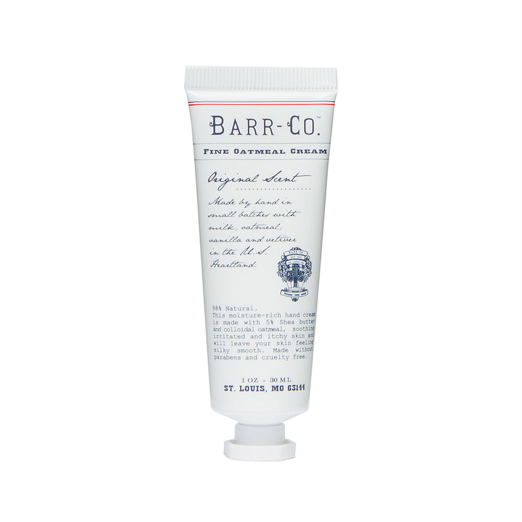 barr-co original scent mini travel size hand cream in 1 ounce tube