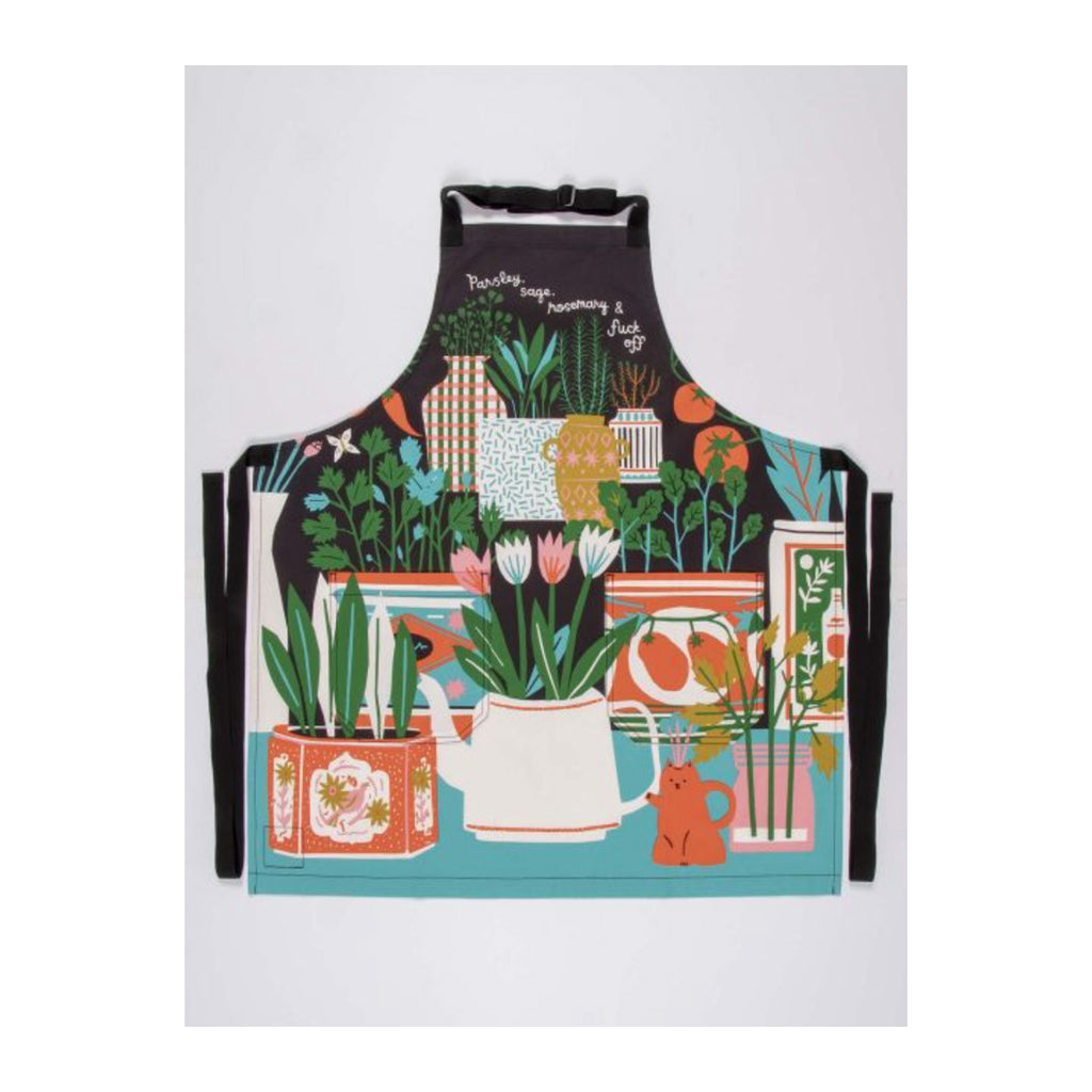 blue q parsley sage rosemary apron