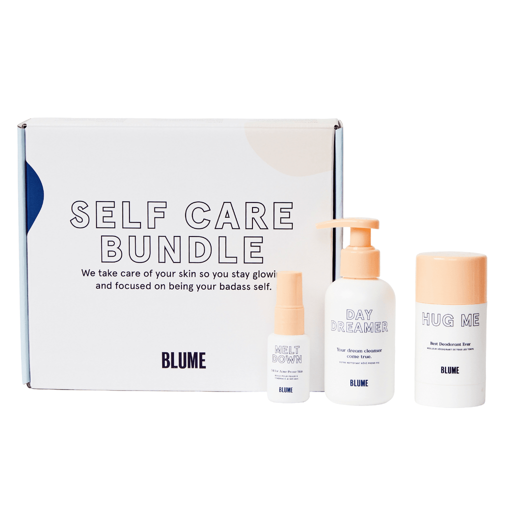 blume self care bundle kit beauty gift box with products