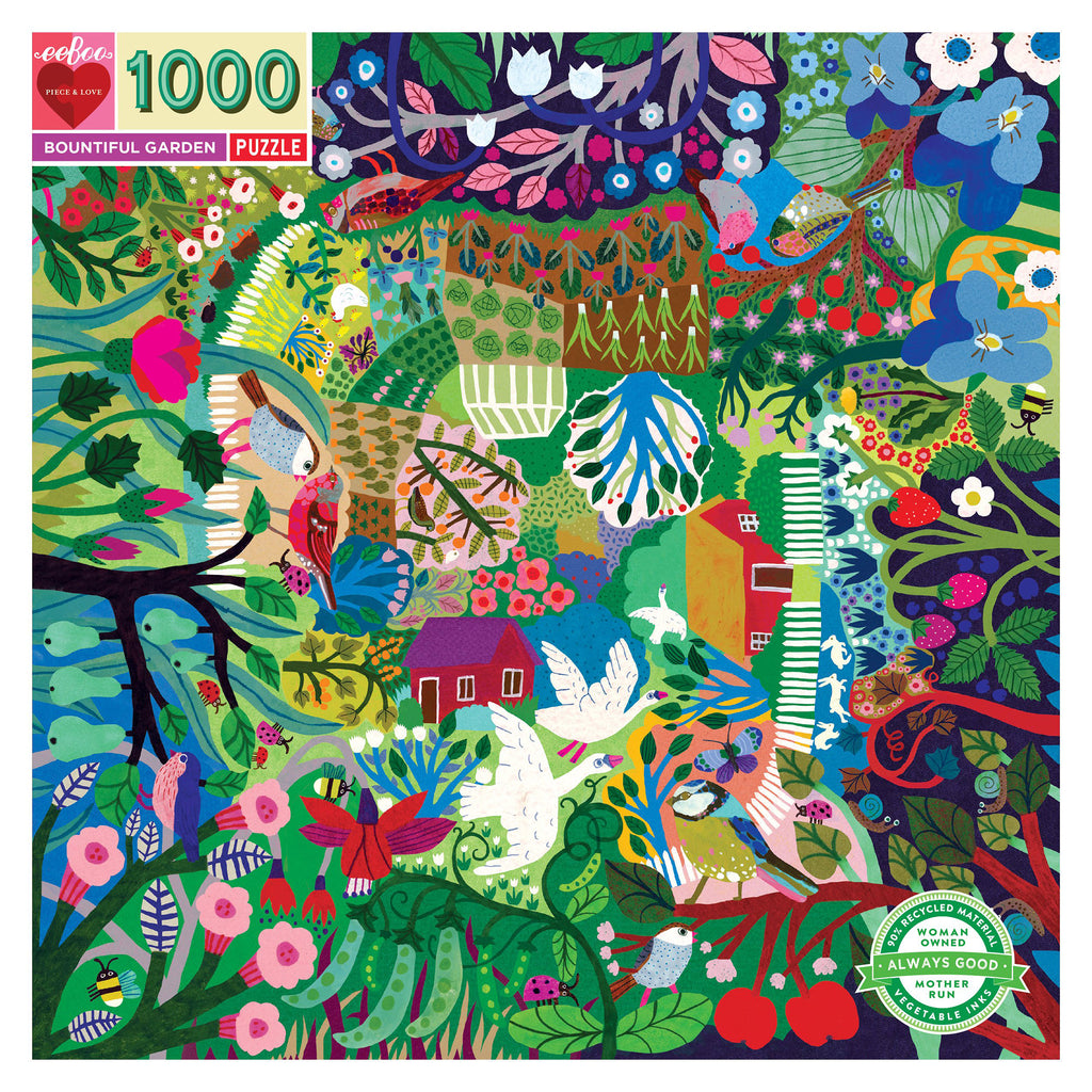 1000 Piece Bountiful Garden Puzzle