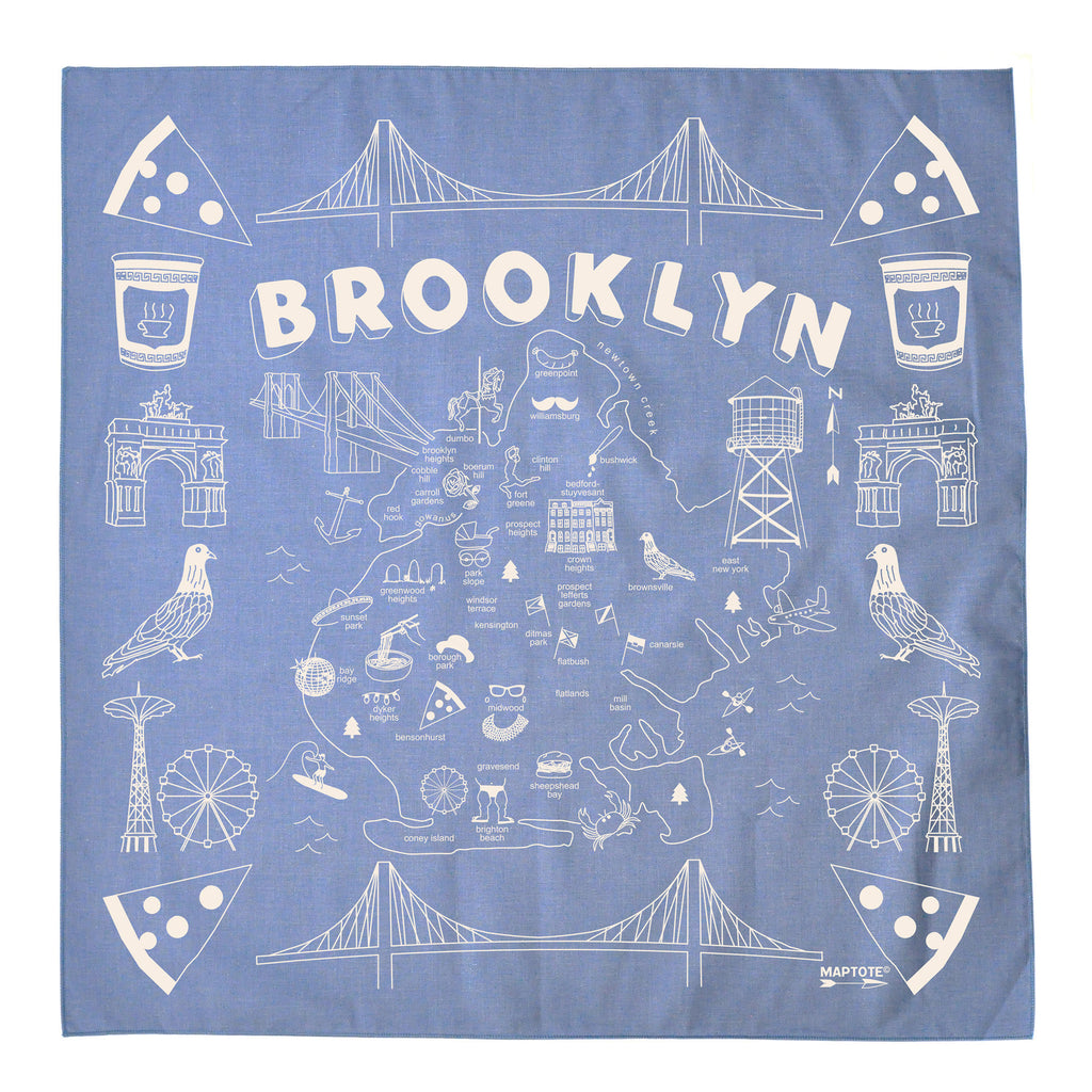 Brooklyn Bandana (Multiple Colors Available)