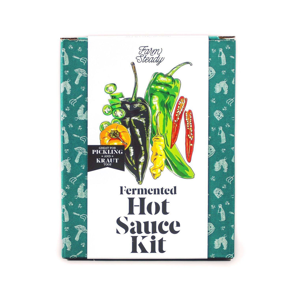 brooklyn brew shop fermented hot sauce kit box front