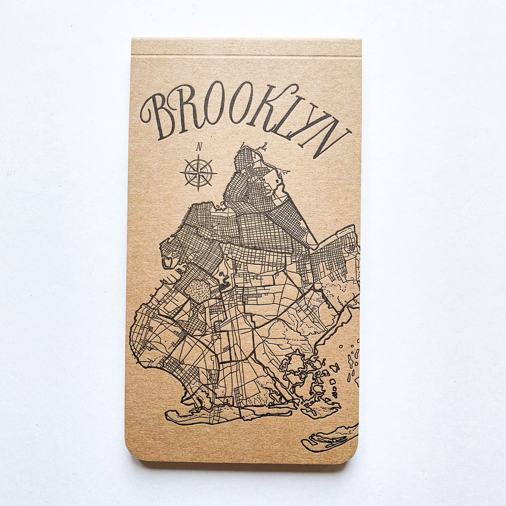 Brooklyn Map Jotter