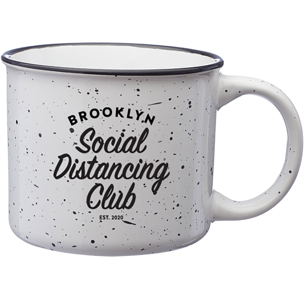 brooklyn social distancing club mug