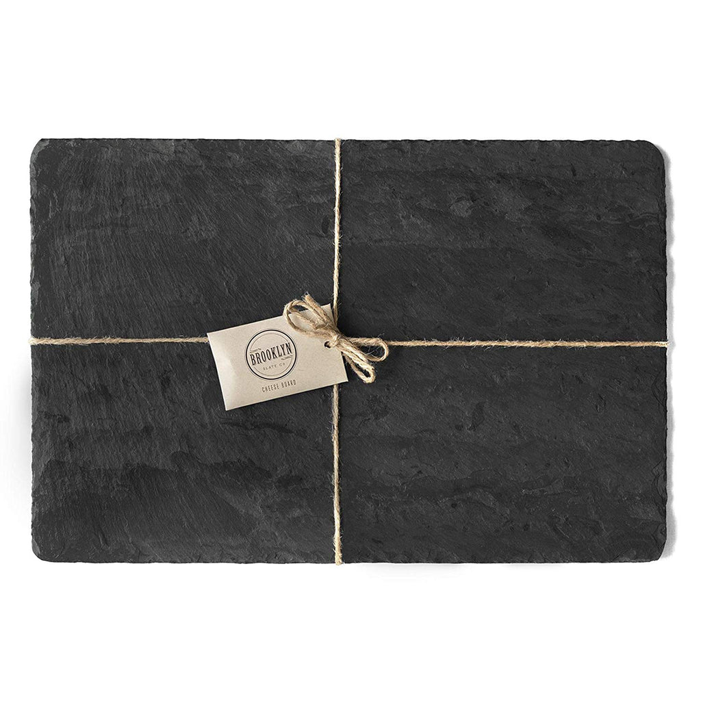 large black slate cheese board packaging