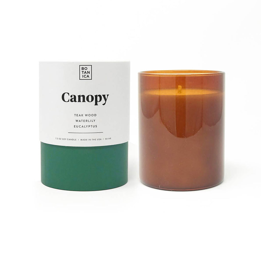 botanica canopy 7.5 ounce scented soy candle