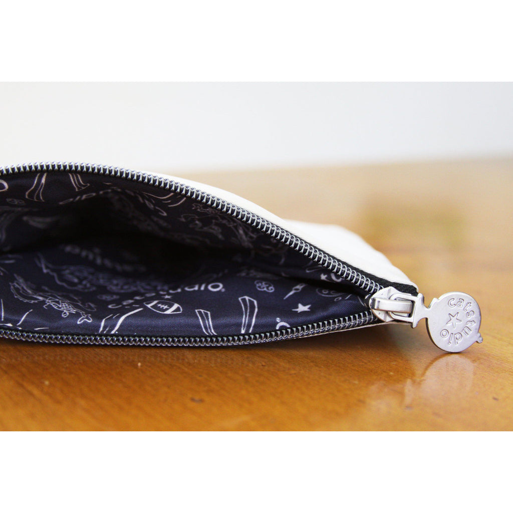 cat studio brooklyn zipper pouch