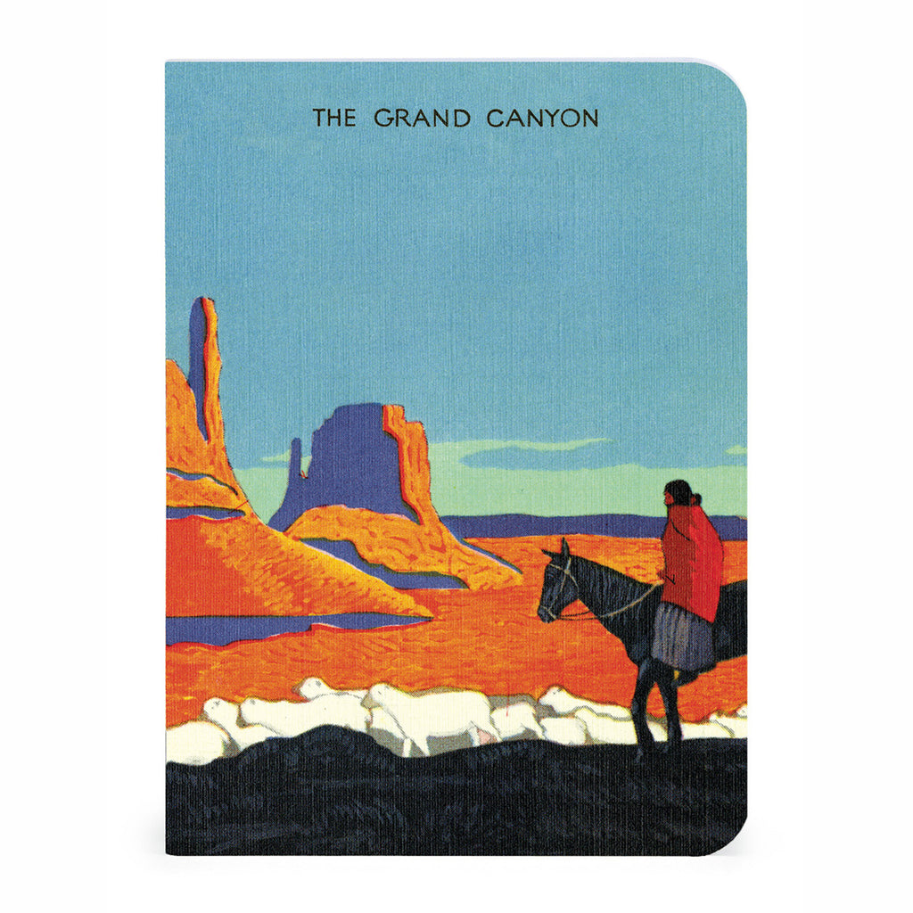 cavallini national parks mini notebooks journals set of three grand canyon cover