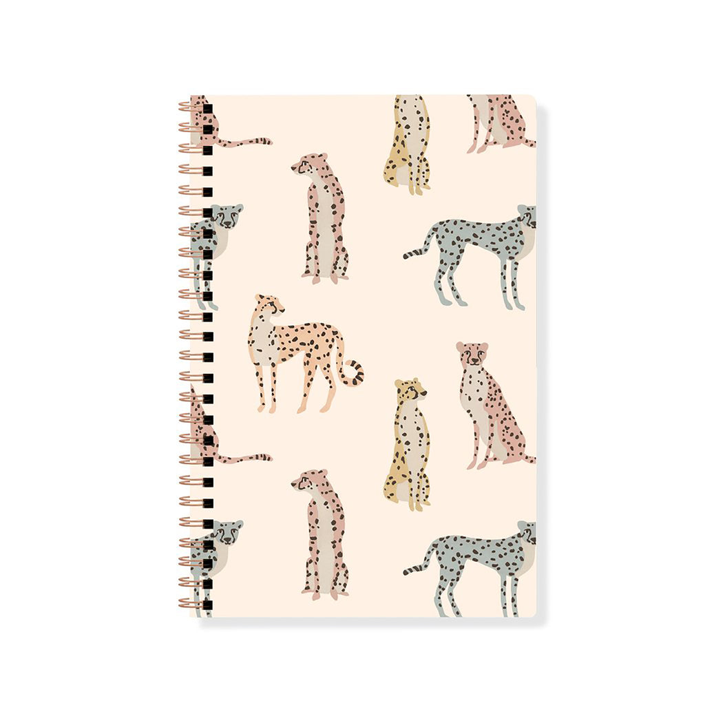 Cheetahs Spiral Journal