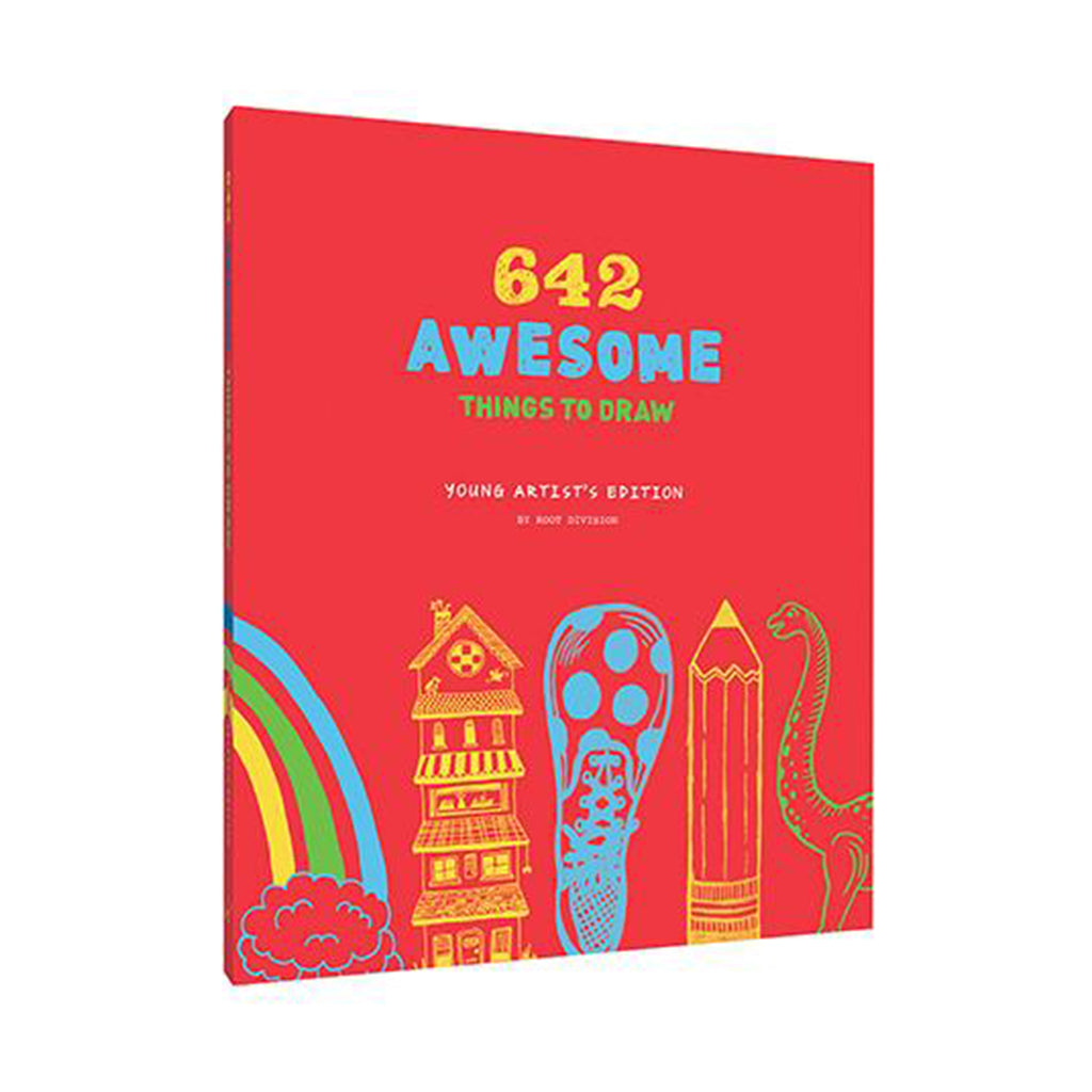 chronicle 642 awesome thing to draw book young artists edition cover