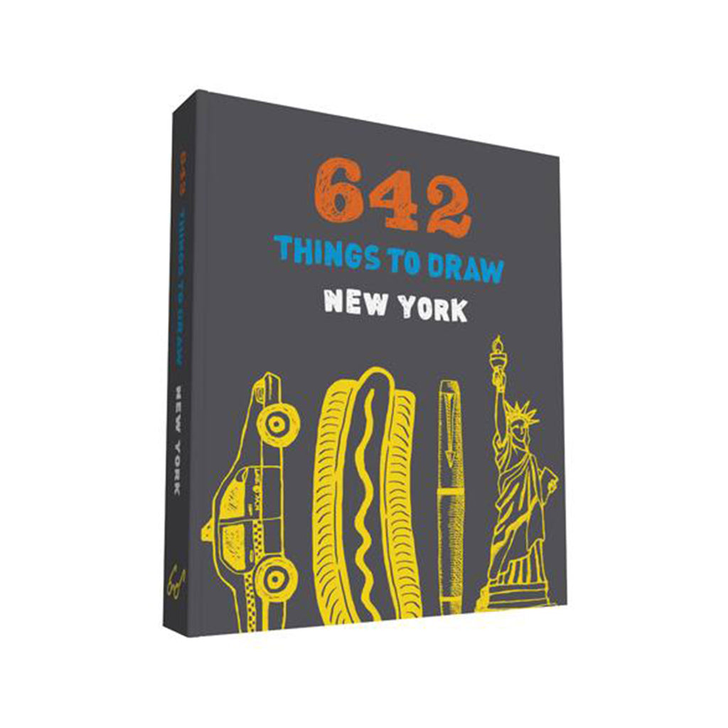 chronicle 642 things to draw new york pocket size cover