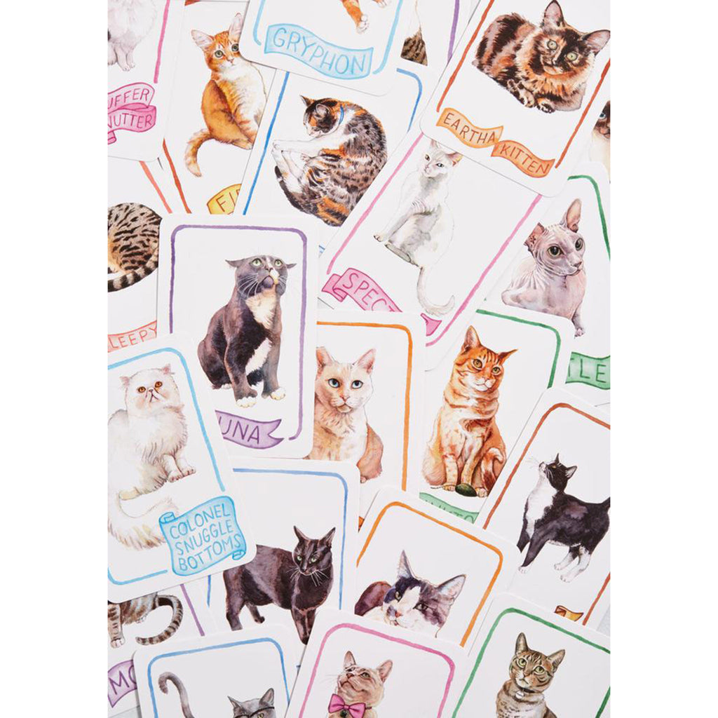 chronicle cat lady old maid playing cards sample cards