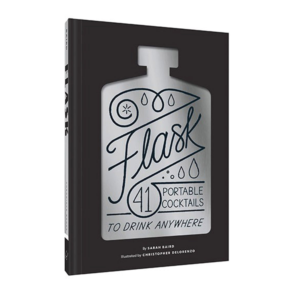 flask forty one portable cocktail recipes to drink anywhere book cover