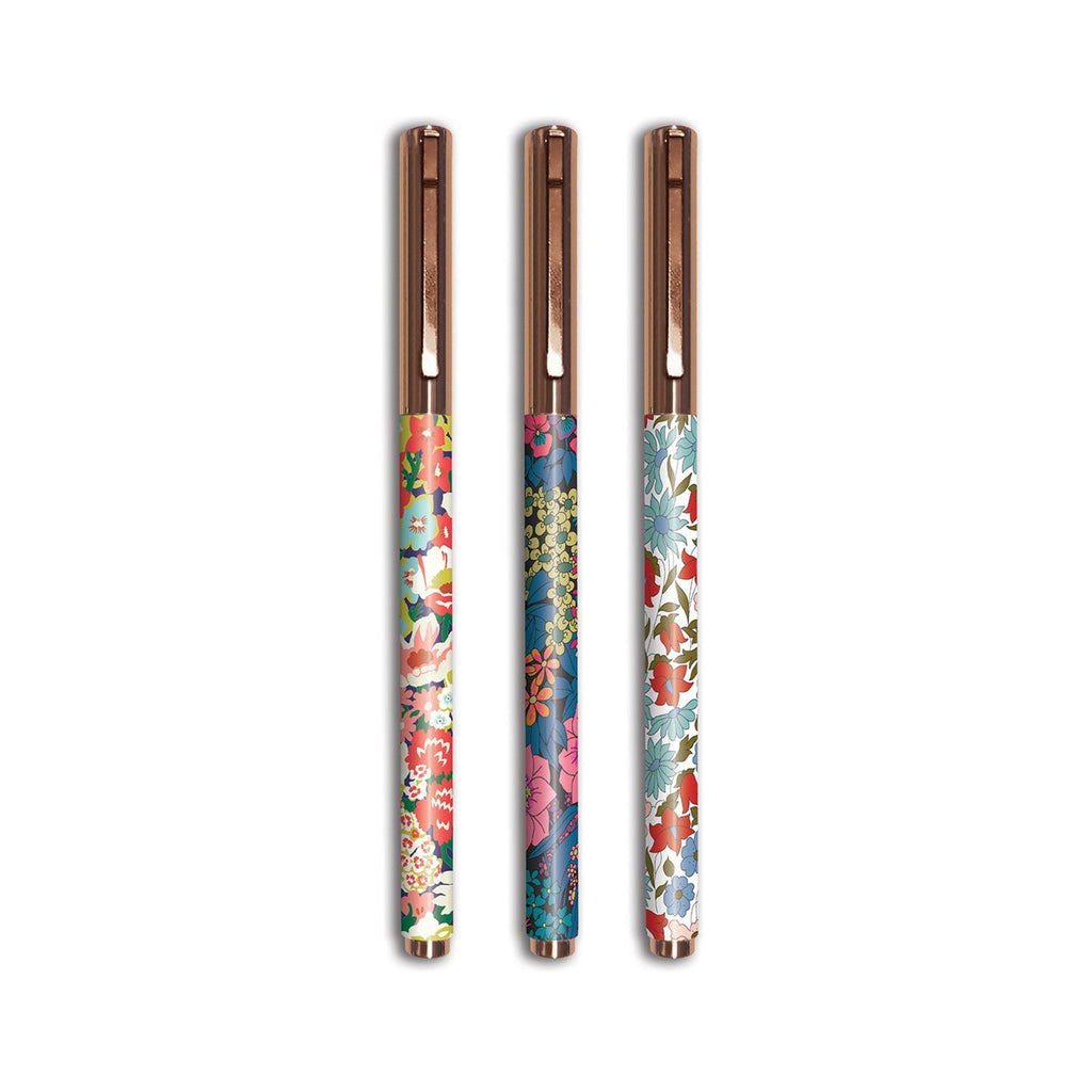 chronicle galison liberty london floral everyday pens